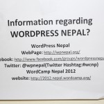 So, what exactly is WordPress Nepal ?