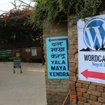 WordCamp is happening inside...