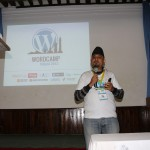 And WordCamp Nepal 2012 starts, Ujwal Thapa opening the event!